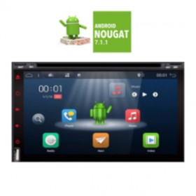 IQ-AN7680 GPS (DVD) 2-DIN ANDROID 7.1.1. Nougat,ΟΘΟΝΗ 6.95 INCES