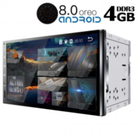 IQ-AN8700 GPS (DECK) MULTIMEDIA 2-DIN ANDROID 8 OREO FULL HD TOUCHSCEEN